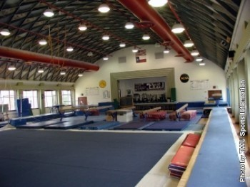 Gymnastics Practice Facilty - Texas Woman's University Athletics