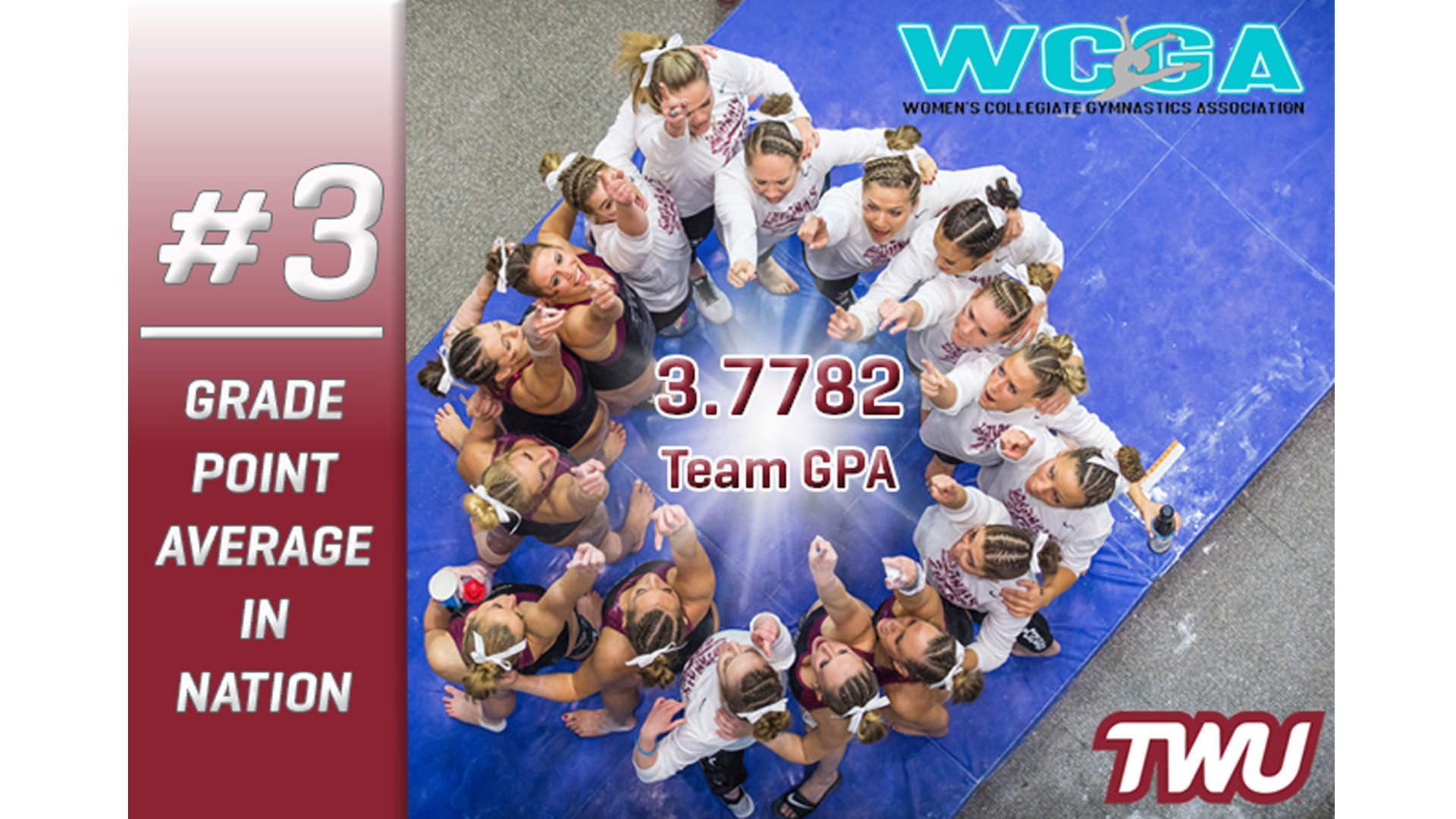 Pioneer Gymnastics Posts Third Best Gpa In Nation Texas Womans