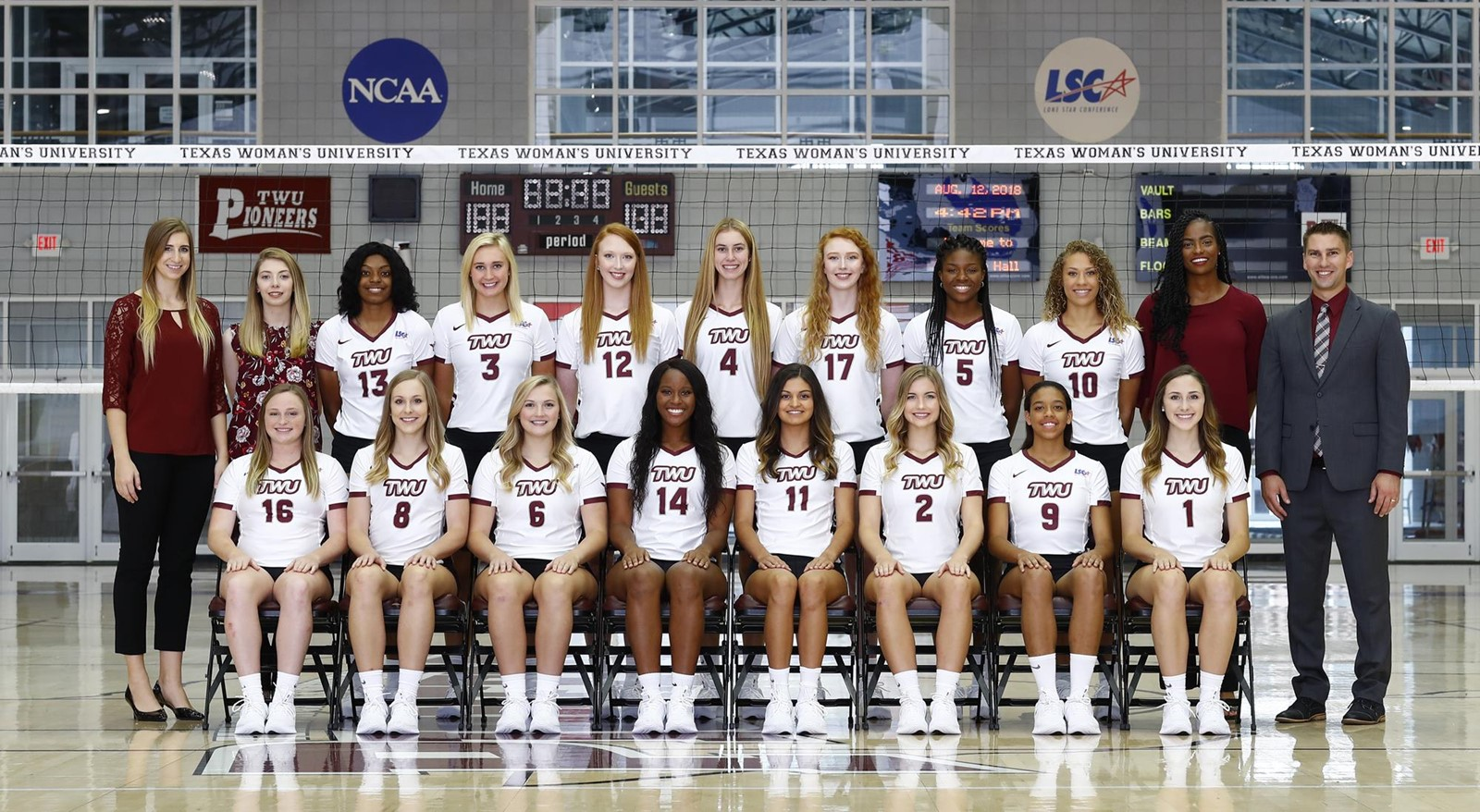 2018 Volleyball Roster Texas Woman S University Athletics